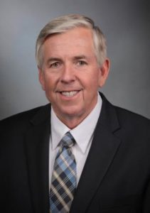 Governor Mike Parson Official Photo